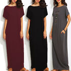 Women Dress Long Evening Party Maxi Summer Casual Beach Boho Sundress Plus Size