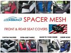 Custom Fit Front & Rear Coverking Spacer Mesh Seat Covers for Chevy Volt