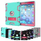 "Apple iPad 9.7"" 2017 Tough HEAVY DUTY Shock Proof Protective Survival Case Cover"