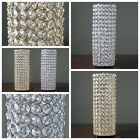 "6 pcs 16"" tall Faux Crystal Beaded Candle Holder Centerpiece Wedding WHOLESALE"