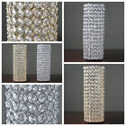 """6 pcs 16"""" tall Faux Crystal Beaded Candle Holder Centerpieces Wedding WHOLESALE"""