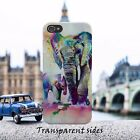 Painted Elephant And Cub Baby Art Phone Case Cover