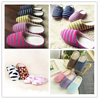 US Women Men House Indoor Slippers Home Warm Fluffy Plush Shoe Anti-Slip Sandals