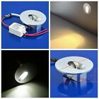 2/4/6/10pcs 1W LED Recessed Mini Wall Step Light Stair Lamp Warm/ White Pathway