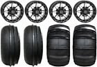 "STI HD5 14"" Beadlock GB UTV Wheels 28"" Sand Stripper/HP Tires Can-Am Defender"