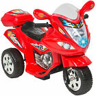 Kids Ride On Motorcycle 6V Toy Battery Powered Electric 3 Wheel Power Bicycle