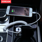 JOYROOM UP-522AL 2.1A Fast Charge Car Charger For Lightning Micro USB Type-C USB