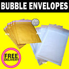 Padded Envelopes - Gold & White Mail Bags CD DVD A3 A4 ETC