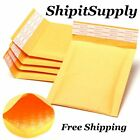 1-500 000 4x8  Yellow  Kraft Bubble Padded Envelopes Mailers Fast Shipping