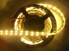 Double Row 12V DC 5M 5050 SMD 600 Cool Warm White LED Strip non waterproof