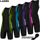 Ladies Triathlon Suit Cycling Running Yoga Womens Tri Suit Swim Suit Padded
