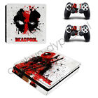 New Deadpool Game For Sony PS4 Slim Skin Stickers Console Controller Decals