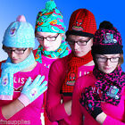 Boys & Girls Hat Glove Scarf Sets Age 2 - 16 Years