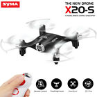 Pocket RC Drone Syma X20-S 2.4G RC Quadcopter One Hand Control Altitude Hold Toy