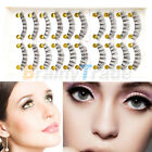 12 PCS/ 3 set Magnetic 3D False Eyelashes Natural Eye Lashes Extension Handmade