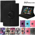 For Amazon Fire HD7 HD8 HD10 2016/17 Slim Leather Folding Case Smart Stand Cover