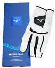 NEW MIZUNO 2018 COMP SUPERIOR QUALITY SYNTHETIC GOLF GLOVE, WHITE, MEN or WOMEN