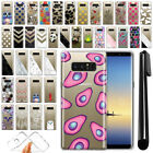 "For Samsung Galaxy Note 8 N950 6.3"" Ultra Thin Clear TPU Case Phone Cover + Pen"