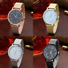 Fashion Luxury Brand Minimalist Style Marble Watch Stainless Steel leather Strap