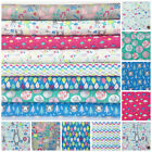 INTO THE WOODS childrens themed 100% Cotton, Fabrics &  Bundles