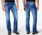 "DIESEL ""Zathan"" Stretch Cotton Regular Boot Cut Blue Jeans 0831D NEW NWT"