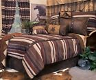 Old West Stripe Western Rustic Comforter Set with FREE Sheets and Shipping!
