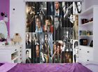 Famous Superstar 3D Curtain Blockout Photo Printing Curtains Drape Fabric Window