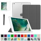 """For New iPad 5th Generation 9.7"""" 2017 Smart Case Translucent Frosted Back Cover"""