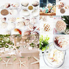 Lots Natural Seashells Starfish Aquarium Ornament Fish Tank Artificial Decor DIY