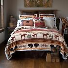 Hinterland Cabin Rustic Quilt Set with FREE Valance and Shipping!
