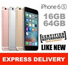 AS NEW APPLE IPHONE 6S 16GB 64GB 4G SMARTPHONE 100% UNLOCKED EXPRESS FROM MEL MR