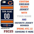 Chicago Bears NFL Phone Case Cover for LG G6 G5 G4 HTC One m9 m8 Moto E G X etc.