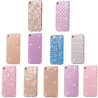 Case For iPhone 6 7 PC Hard Slim Pattern Silicone Protective Thin Back Cover