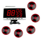 EZISERV Restaurant, Club, wireless bell, wireless pager digital display PACKAGE