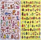 Yuru Animal Transparent Sticker Sheet (Your Choice of Design)~KAWAII!!!