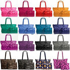 COACH TOTE Weekender XL PACKABLE Overnight Nylon TRAVEL D...