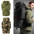 Outdoor Sport 80L Oxford Travel Hiking Camping Backpack Rucksack Bag New