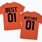 Best Witches Tshirts Matching Halloween Costume Good Witch Bad Witch Sisters BFF
