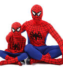One-piece Spiderman Superhero Costumes Tights for Children Boys or Adult