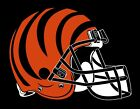 Cincinnati Bengals  Helmet Sticker Vinyl Decal / Sticker 5 sizes!! $2.99 USD on eBay