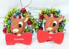 Rudolph The Red Nosed Reindeer Personalized Ornaments Christmas Variations