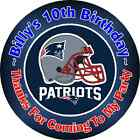 NEW ENGLAND PATRIOTS BIRTHDAY PARTY STICKERS FAVOR LABELS FAVORS~ VARIOUS SIZES on eBay