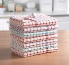 3x, 6x, 9x, 12x Tea Towels Set 100% Cotton Kitchen Dish Cloths Drying Cleaning
