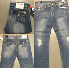 True Religion Mens Ricky With Flap Super T Straight Jean All Sizes New Style