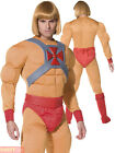 Mens He-Man Costume Adults Skeletor 80s Masters of the Universe Fancy Dress