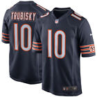 BNWT Nike Mitchell Trubisky Chicago Bears NFL Game American Football Jersey