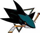 San Jose Sharks logo Vinyl Decal / Sticker 5 Sizes!!! $4.99 USD on eBay