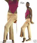 SKIRT Flares Stretch Cotton Lagenlook FESTIVAL Dance Club wear Wide leg onesize
