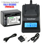 canon legria hf m406 - Kastar 1 Battery & Fast Charger kit for Canon BP-718 BP718 CG-700
