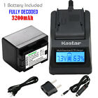 canon legria hf m406 - Kastar 1 Battery & Fast Charger kit for Canon BP-727 BP727 CG-700
